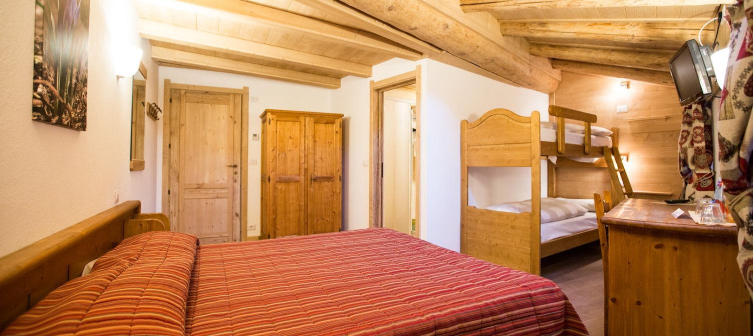 Hotel La Barme camera familiare